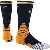 Stance Utah Jazz On Court Logo Crew Socks