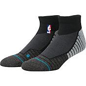 Stance NBA Coaches Low Crew Black Socks