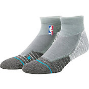 Stance NBA Coaches Low Crew Grey Socks