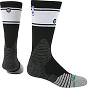 Stance NBA Bold Stripe Black Crew Socks