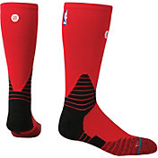 Stance NBA On Court Red Crew Socks