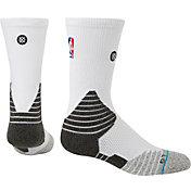 Stance NBA On Court White Crew Socks