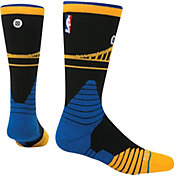 Stance Golden State Warriors On Court Crew Black Socks