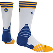 Stance Golden State Warriors Logo Crew White Socks