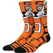 Stance Clemson Tigers Mascot Socks