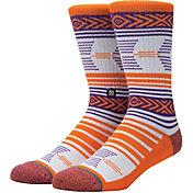 Stance Clemson Tigers Mazed Socks