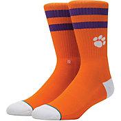 Stance Clemson Tigers Striped Socks
