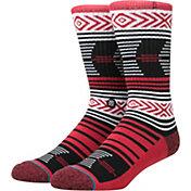 Stance Georgia Bulldogs Mazed Socks