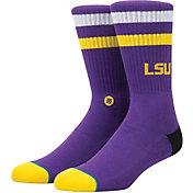 Stance LSU Tigers Striped Socks