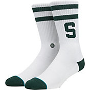 Stance Michigan State Spartans Striped Socks