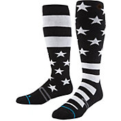Stance Stars and Bars OTC Medium Wool Socks