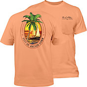 Salt Life Men's Feet Up Anchor Down T-Shirt