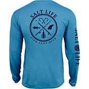 Salt Life Men's Salt Fix SLX UVapor Performance Long Sleeve Shirt
