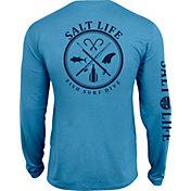 Salt Life Men's Salt Fix SLX UVapor Performance Long Sleeve Shirt