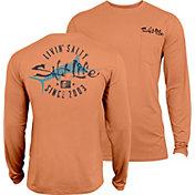 Salt Life Men's Salty Marlin SLX UVapor Long Sleeve Shirt