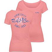 Salt Life Women's Livin' Salty Turtle T-Shirt