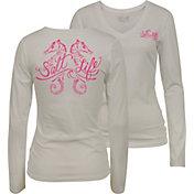 Salt Life Women's Seahorse Daze Scoop Neck Long Sleeve Shirt