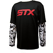 STX Little Boys' Hangdown Performance Long Sleeve Lacrosse Shirt