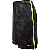 STX Little Boys' Army Print Interlock Lacrosse Shorts