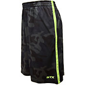 STX Little Boys' Army Print Interlock Lacrosse Shorts