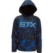STX Boys' Hi-Tech Fleece Printed Hoodie