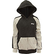 STX Boys' Textured French Terry Full-Zip Hoodie
