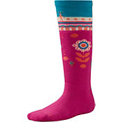 Smartwool Kids' Wintersport Flower Patch Socks