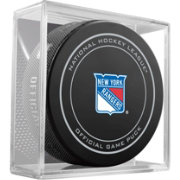 Sher-Wood New York Rangers Official Game Puck