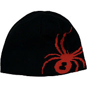 Spyder Boys' Reversible Bug Knit Beanie