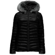 Spyder Women's Timeless Long Faux Fur Down Jacket