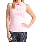 Tail Women's Classic Sleeveless Mesh Golf Polo