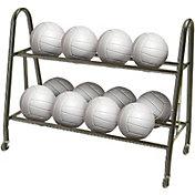 Tandem Volleyball/Basketball Ultimate Ball Rack