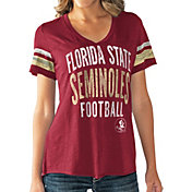 Touch by Alyssa Milano Women's Florida State Seminoles Garnet Motion Football T-Shirt