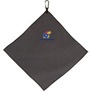 Team Effort Kansas Jayhawks Microfiber Golf Towel