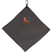 Team Effort Miami Hurricanes Microfiber Golf Towel