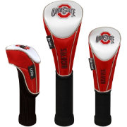 Team Effort Ohio State Buckeyes Headcovers - 3-Pack