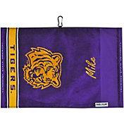 Team Effort LSU Tigers Jacquard Golf Towel