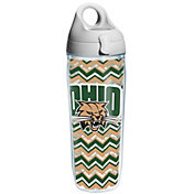 Tervis Ohio Bobcats Clear Chevron 24oz Water Bottle