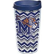 Tervis Memphis Tigers Clear Chevron 16oz Tumbler