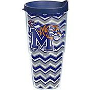 Tervis Memphis Tigers Clear Chevron 24oz Tumbler