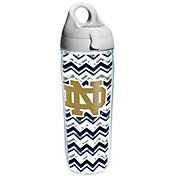 Tervis Notre Dame Fighting Irish Clear Chevron 24oz Water Bottle