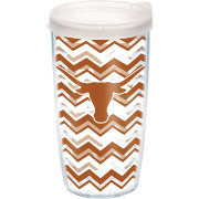 Tervis Texas Longhorns Clear Chevron 16oz Tumbler
