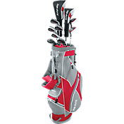 Top Flite 2016 XL 13-Piece Complete Set – (Graphite/Steel) – Red/Grey