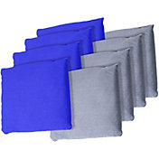 Trademark Games Blue and Grey Bean Bags