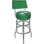 Trademark Games Boston Celtics Padded Swivel Bar Stool with Back
