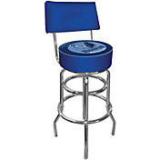 Trademark Games Memphis Grizzlies Padded Swivel Bar Stool with Back