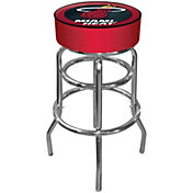 Trademark Games Miami Heat Padded Bar Stool