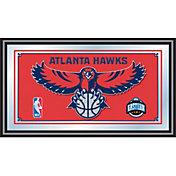 Trademark Games Atlanta Hawks Framed Mirror