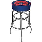 Trademark Games Atlanta Hawks Padded Bar Stool