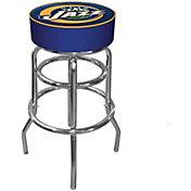 Trademark Games Utah Jazz Padded Bar Stool